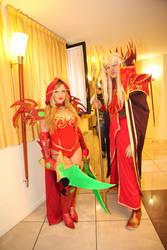 valeera sanguinar and kael'thas cosplay wow by ValeeraHime