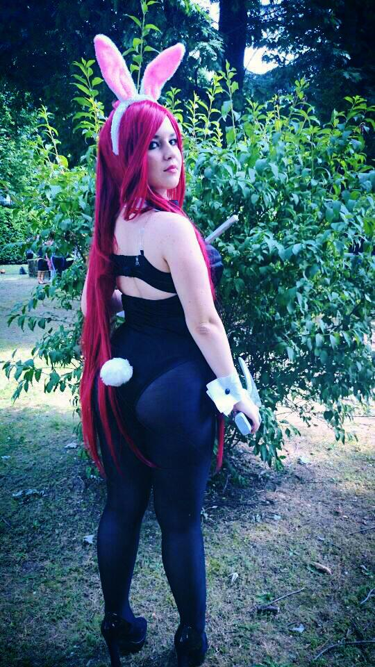 battlebunny katarina cosplay league of legends by ValeeraHime