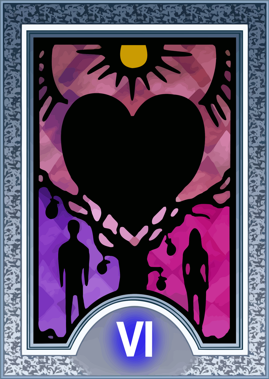 Persona Tarot Card HD - The Lovers