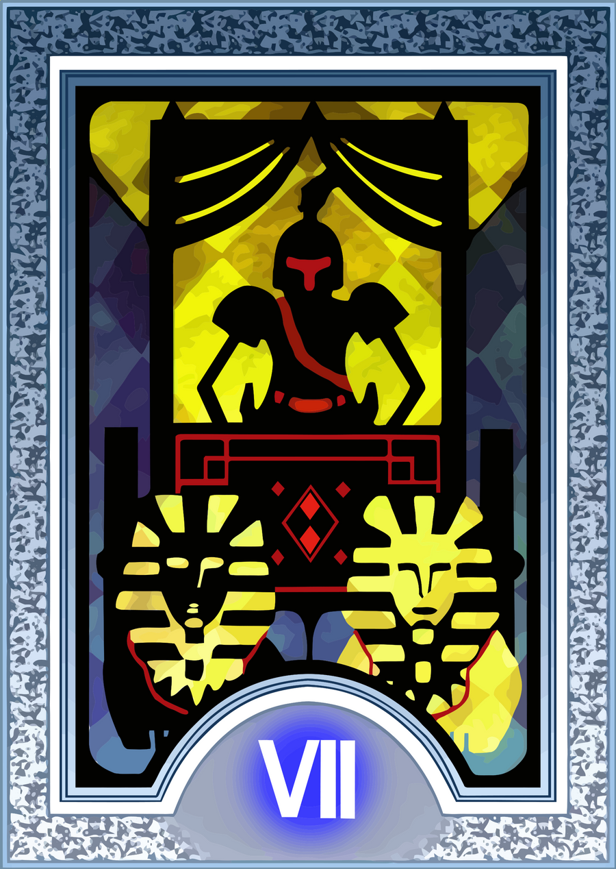 Persona Tarot Card HD - The Chariot