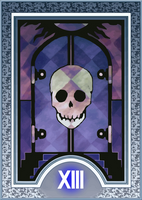 Persona Tarot Card HD - Death by The-Stein