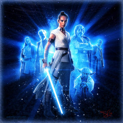 Rey the force be with you