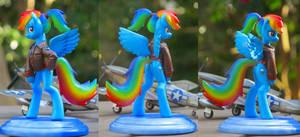Rainbow Dash US Air Force version