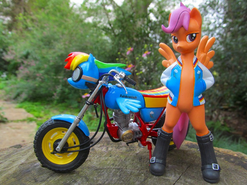 Scootaloo And Her Scooter By Daisymane On Deviantart Not one of my best work. deviantart