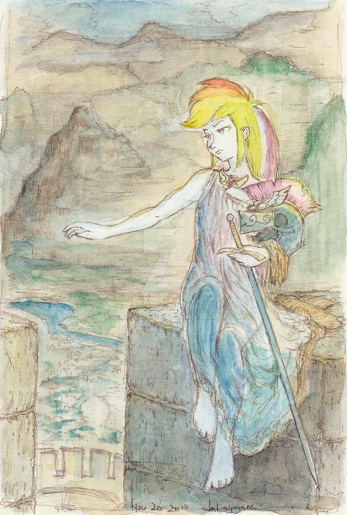 The Valkyrie's Vigil by daisymane
