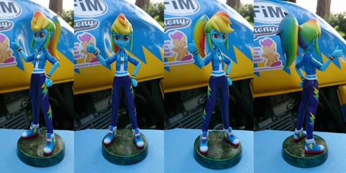 EqG Rainbowdash Ponytail version