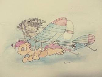 Scootaloo airplane