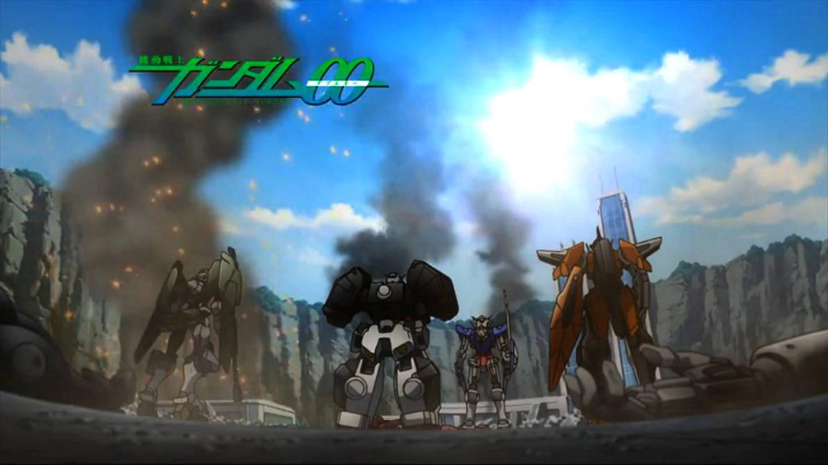 Mobile Suit Gundam 00 Ep7 Wallpaper By Larrykane On Deviantart