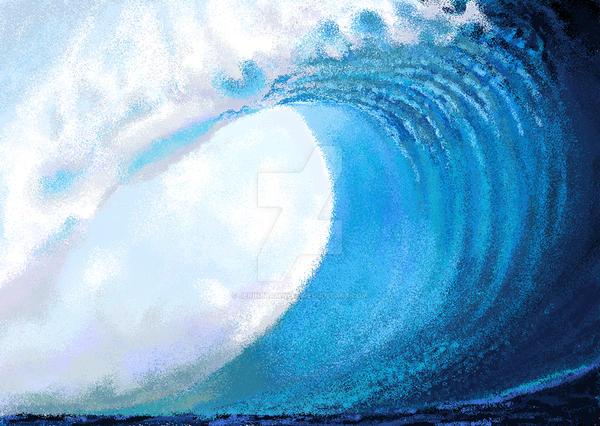 ms paint Tide by Jerinbramwell