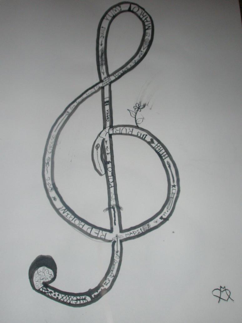 Music note by SnowLepordDragon on deviantART