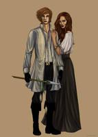 Rand and Aviendha by livska