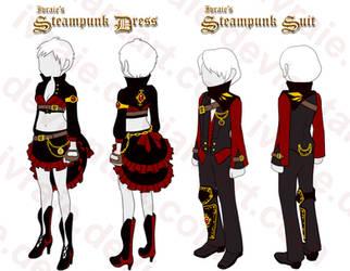 Ivraie's Steampunk Set by Ivraie