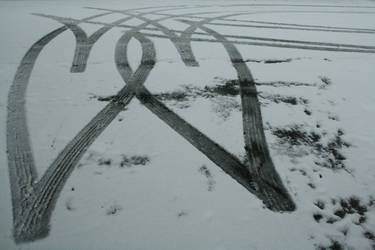 Tire Tracks. by ChaoticCamera