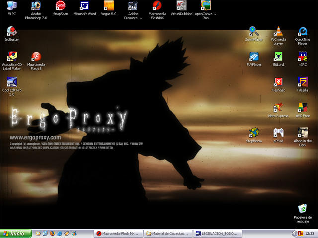 Ergo Proxy Desktop :P by manzanachan