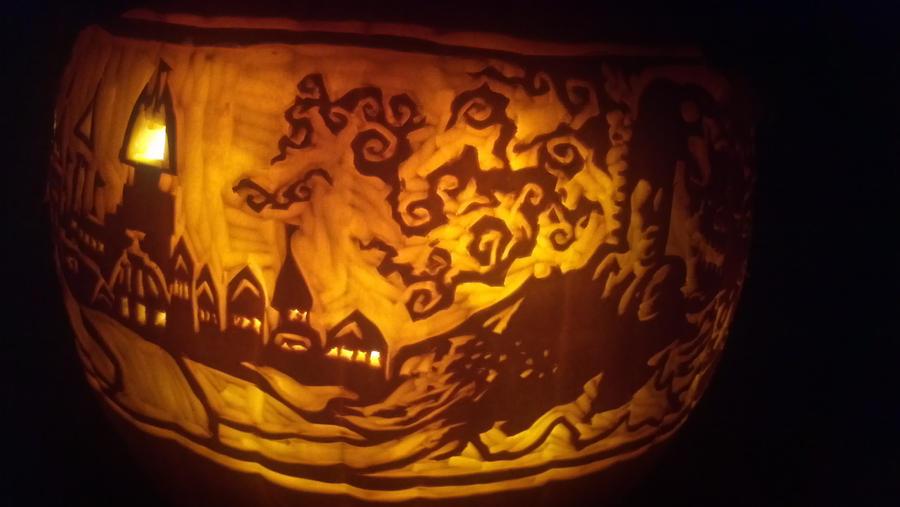Wind Waker big scroll re-do side 3 by Draug419