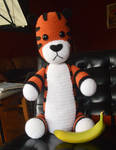 I made a giant Hobbes this weekend :D