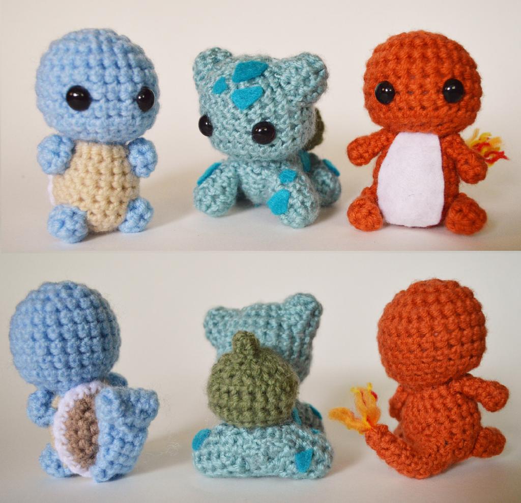Today I designed the original starters by Tessa4244