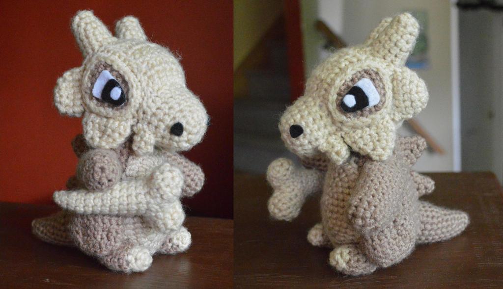 My most recent creation: Cubone!