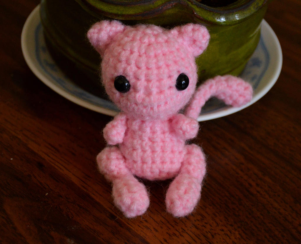 Pokemon Mew Toy. Pokemon Mew Plush. Crochet Mew Doll. Amigurumi ... | 830x1024