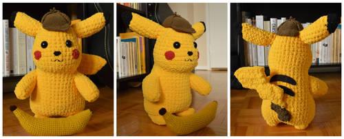 Detective Pikachu! by LoopTeeLoops