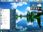 My Blue 7 XP Desktop
