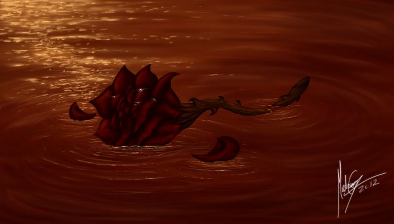 Last flower by xXgunderXx