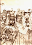 Dick Tracy and Batman's Rogues Gallery
