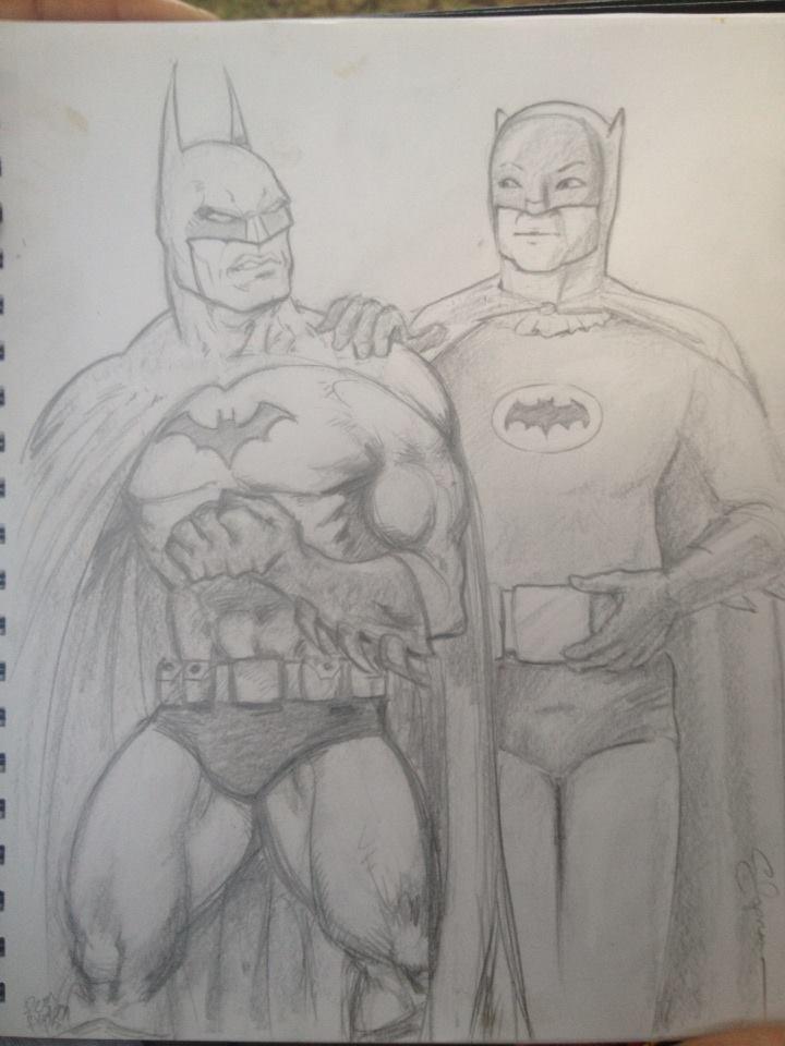 Batman to Batman: Comics and TV