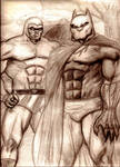The Black Panther and Lothar as The Phantom