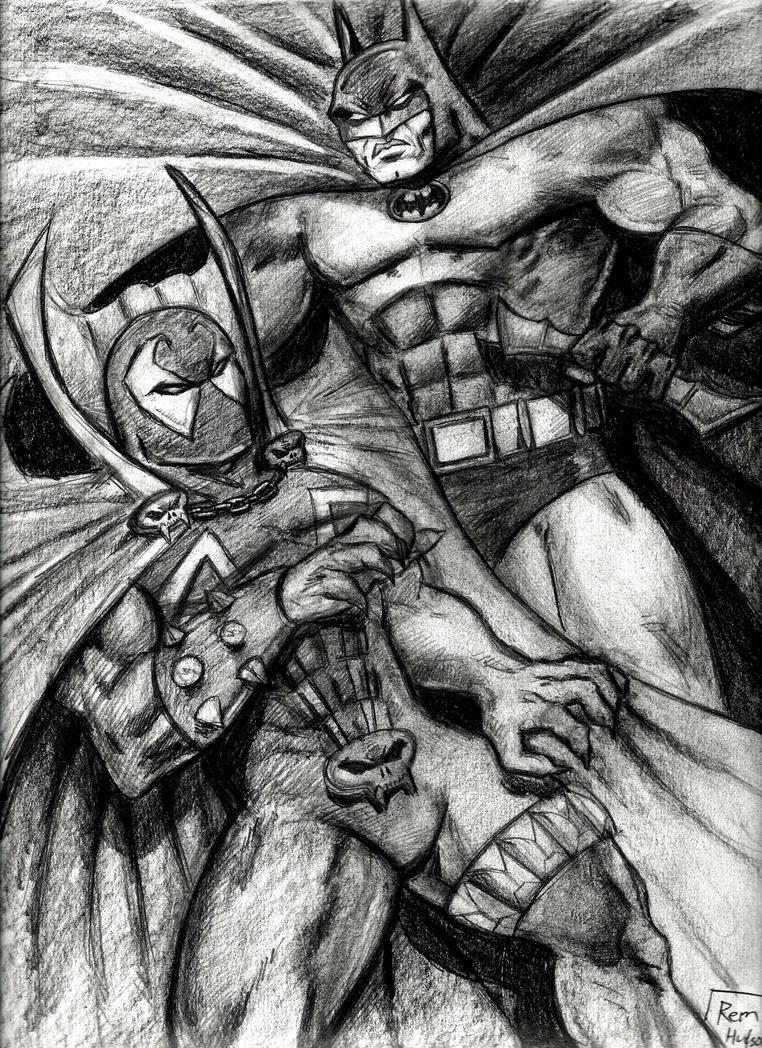 The Dark Knight vs. Spawn by MisterHydesSon