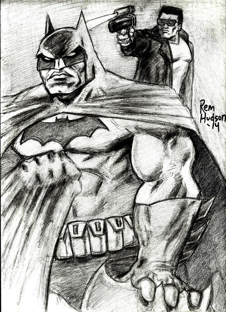 Terminator vs Dark Knight 1986 by MisterHydesSon
