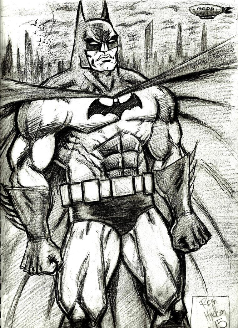 Gotham Dark Knight by MisterHydesSon