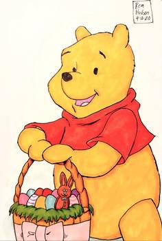 Winnie The Pooh Celebrating Easter 2020