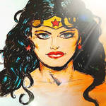 Wonder Woman in the sunshine by MisterHydesSon