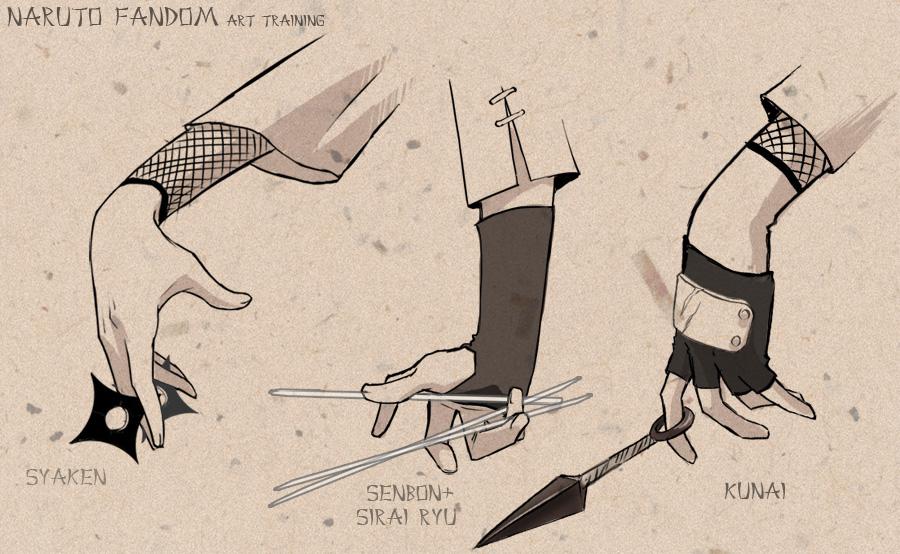 Naruto-style daub by neodios