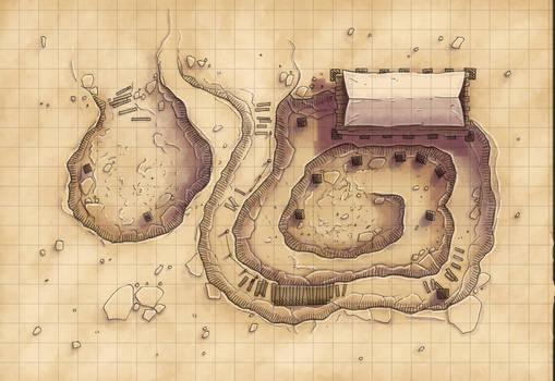 Desert Maps: Grid Digsite