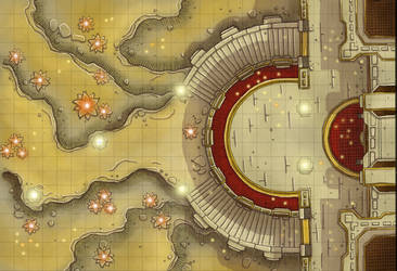 Planes Maps: Mercuria by Caeora