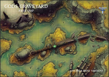Gods Graveyard by Caeora