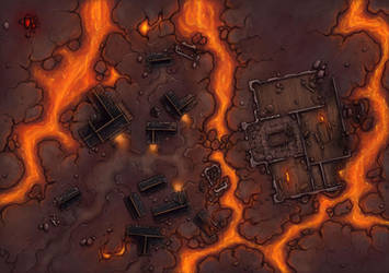 Infernal Manor by Caeora