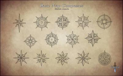 Basic Map Compasses