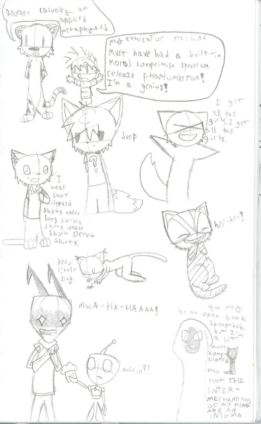 Doodle dump by SirCrashIII