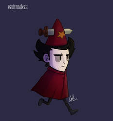 Wilson with a Witch daggah cosplay (2/2)