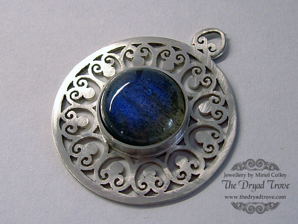 Pierced Pendant - Unfinished by Tzel-ha-Lyla