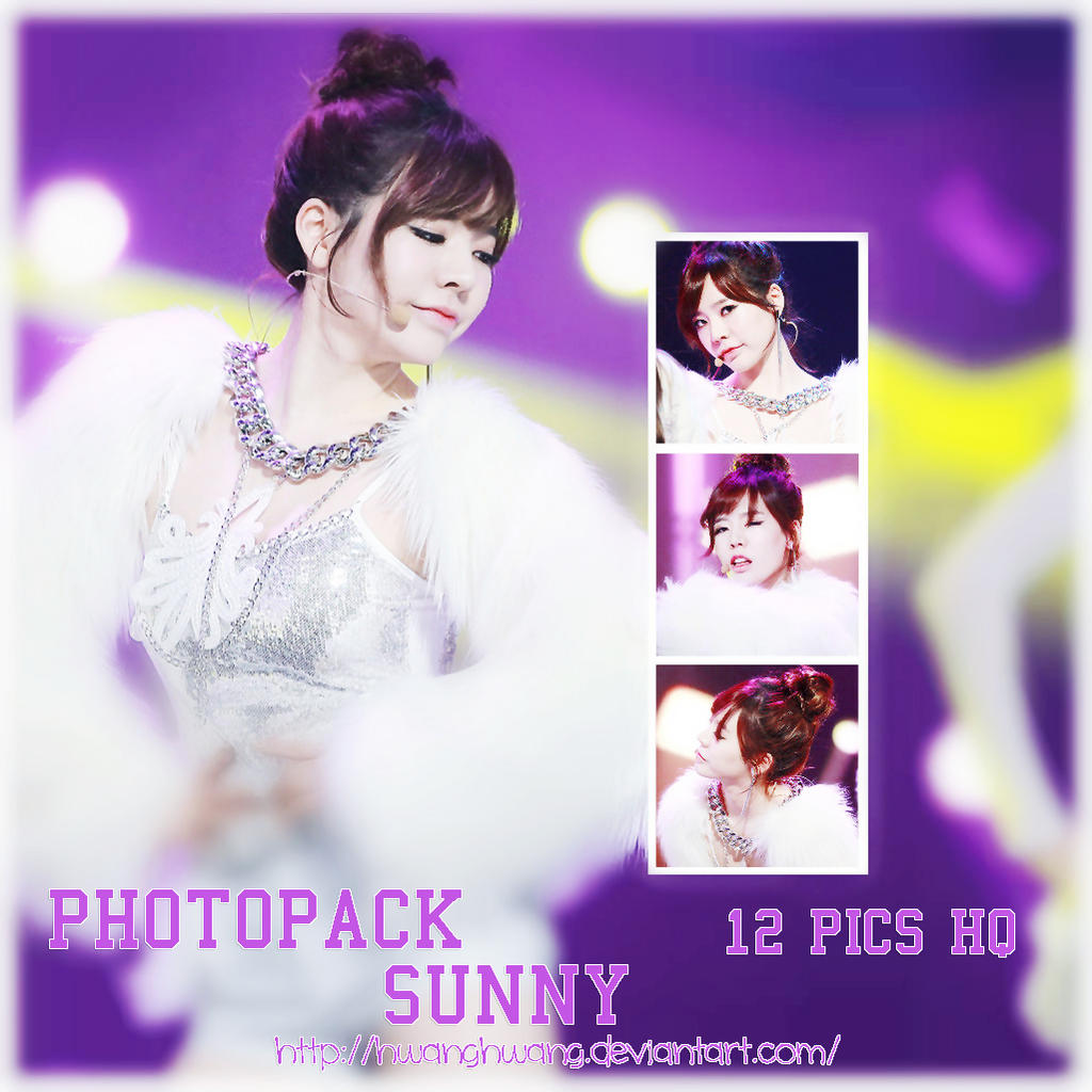 Sunny (SNSD) PHOTOPACK#17 by Hwanghwang