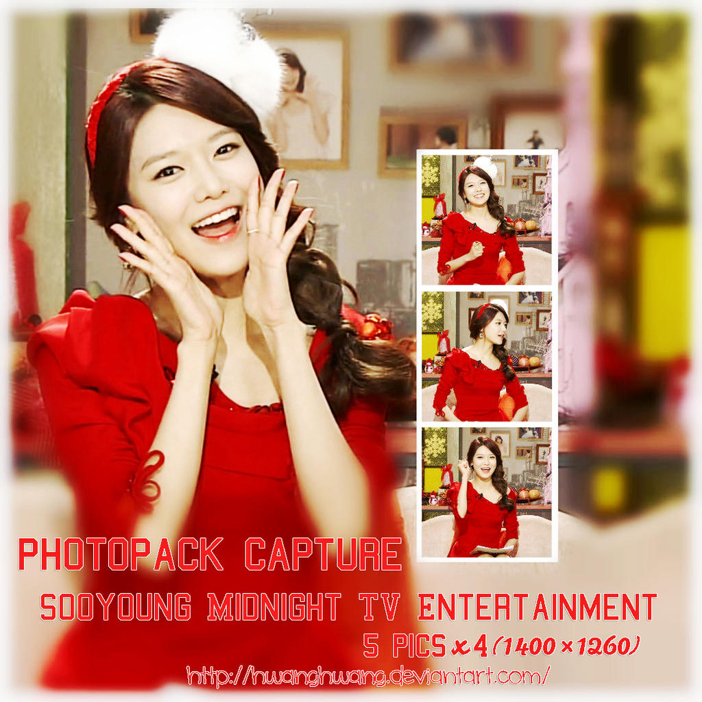 SooYoung (SNSD) PHOTOPACK CAPTURE #19 by Hwanghwang