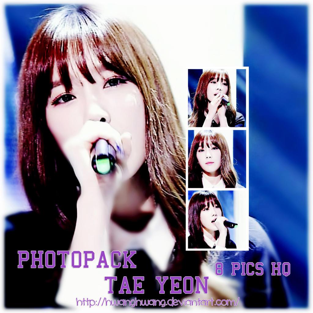 TaeYeon (SNSD) PHOTOPACK#32 by Hwanghwang