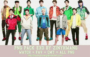 [PNG PACK#3] EXO by Hwanghwang