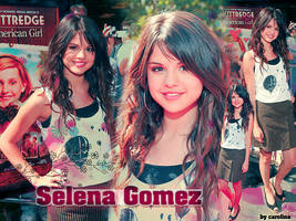 Wallpaper 01 - Selena Gomez by xoxglam