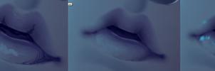 Realistic Mouth Process by Tori001