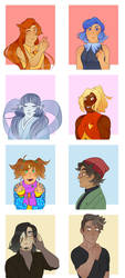 draw friends OCs!! by mouth-off